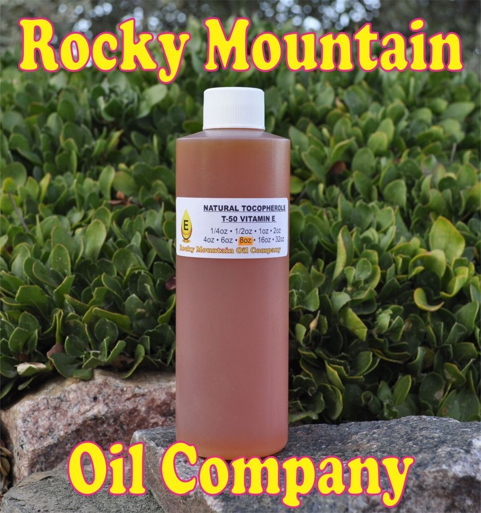 PURE NATURAL TOCOPHEROLS T-50 VITAMIN E ANTI AGING SOLUBLE IN OIL TOCOPHEROL  #RMOC