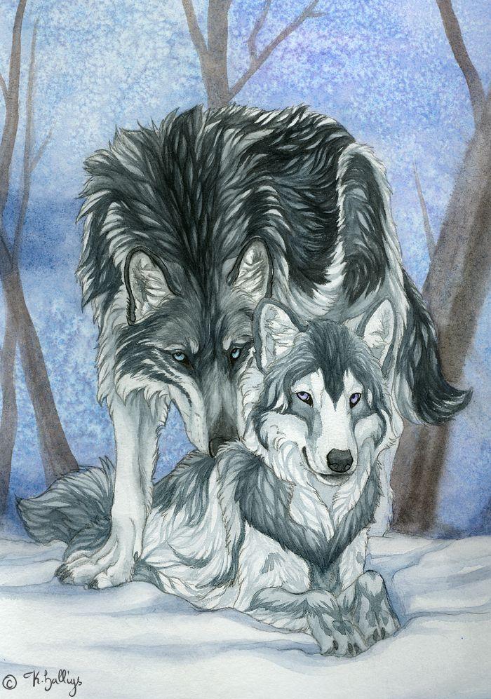 Commission - Chetan and Eleyne by Khalliys
