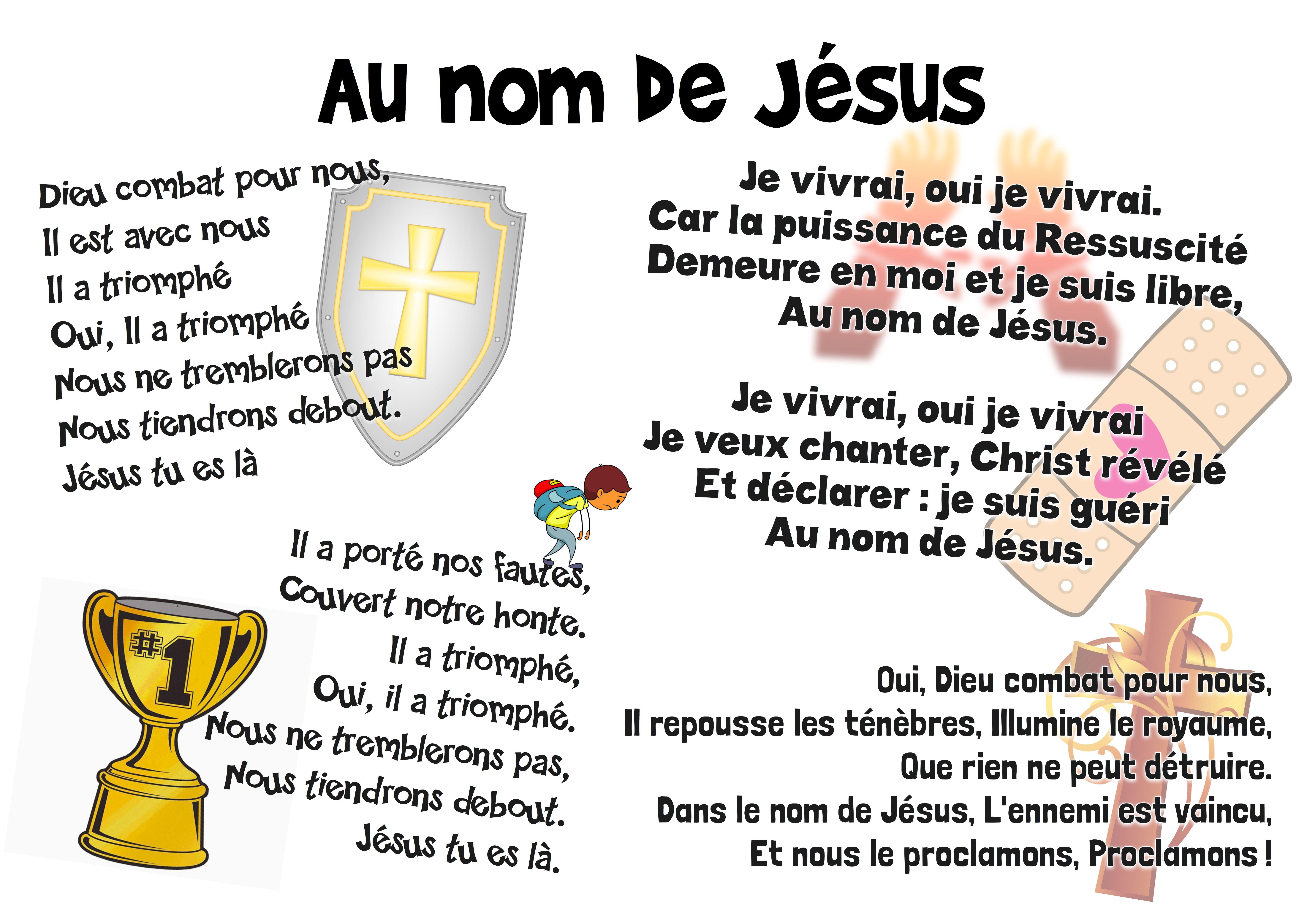 Au Nom De Jesus
