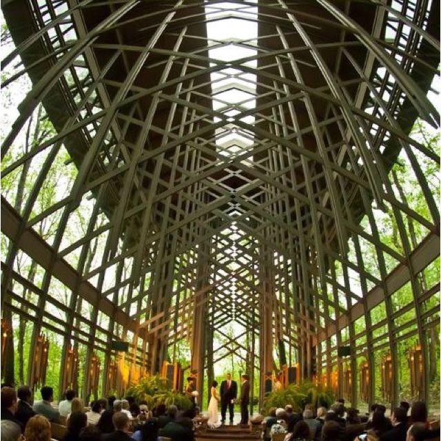 Wedding Chapels Near Eureka Springs: Thorncrown Chapel, Eureka Springs Www.purdyartco.com