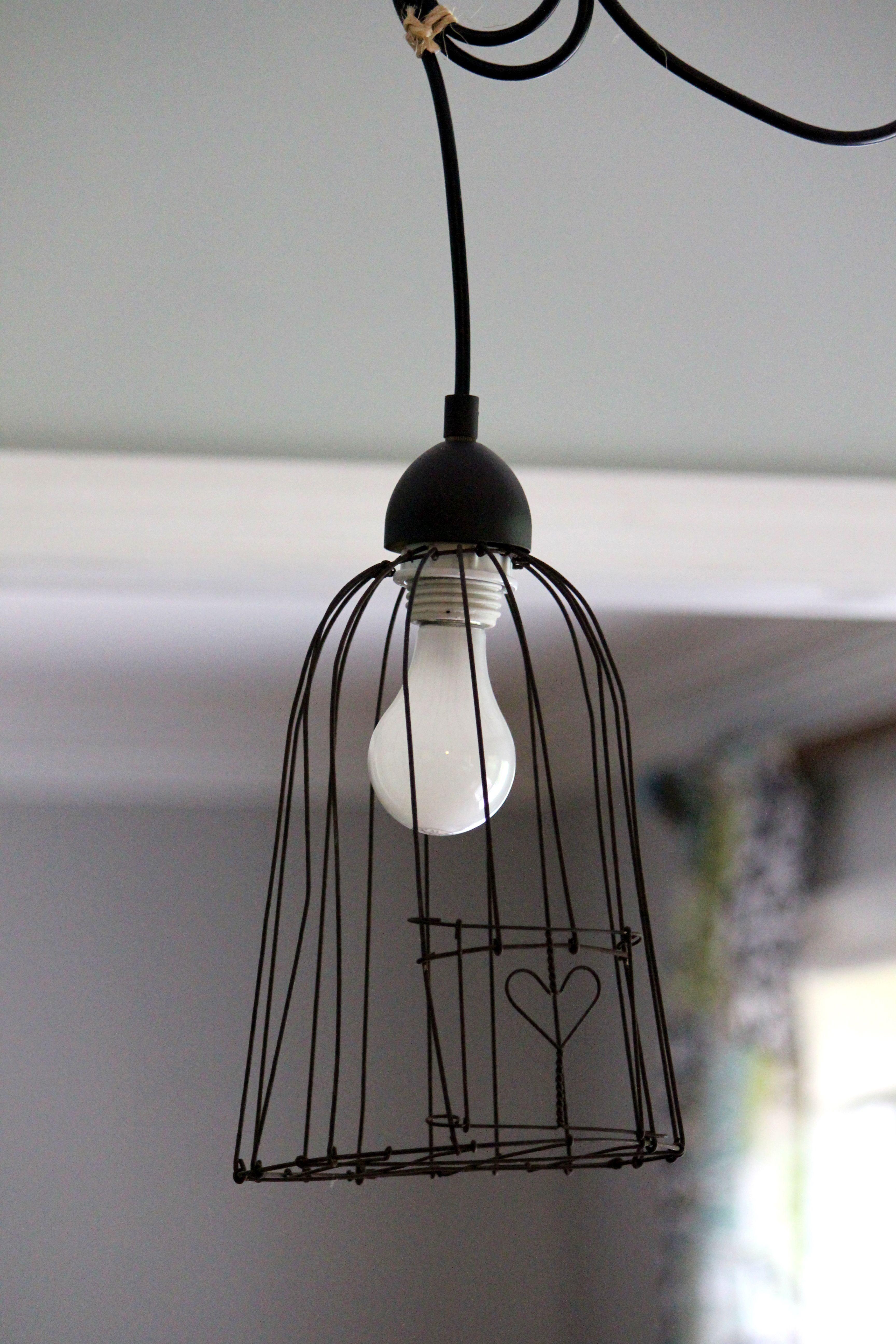 Lighting bedroom diy lmparas pinterest bedrooms lamp ideas little heart bird cage pendant light greentooth Image collections