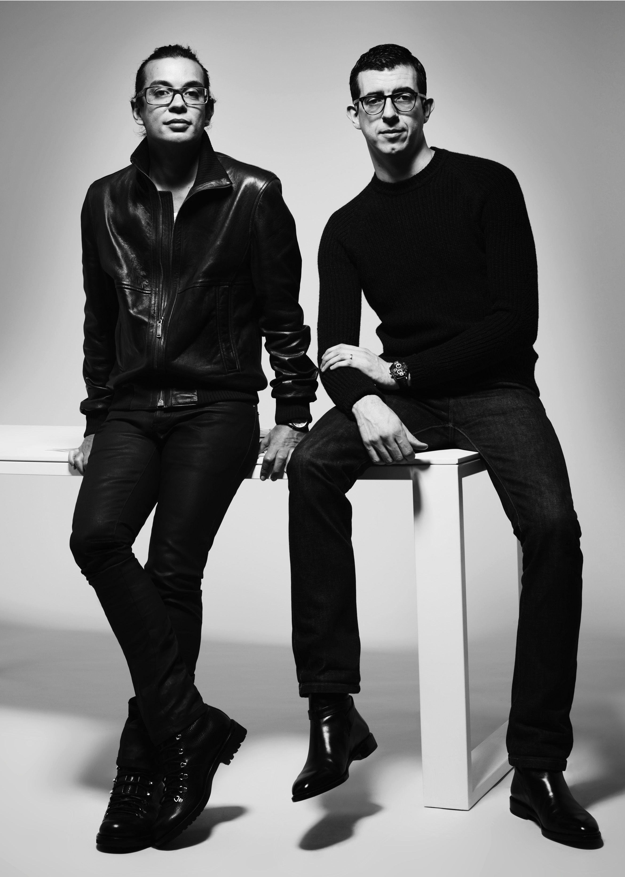 Graeme Fidler and Michael Herz Bally Creative Directors | designers ...