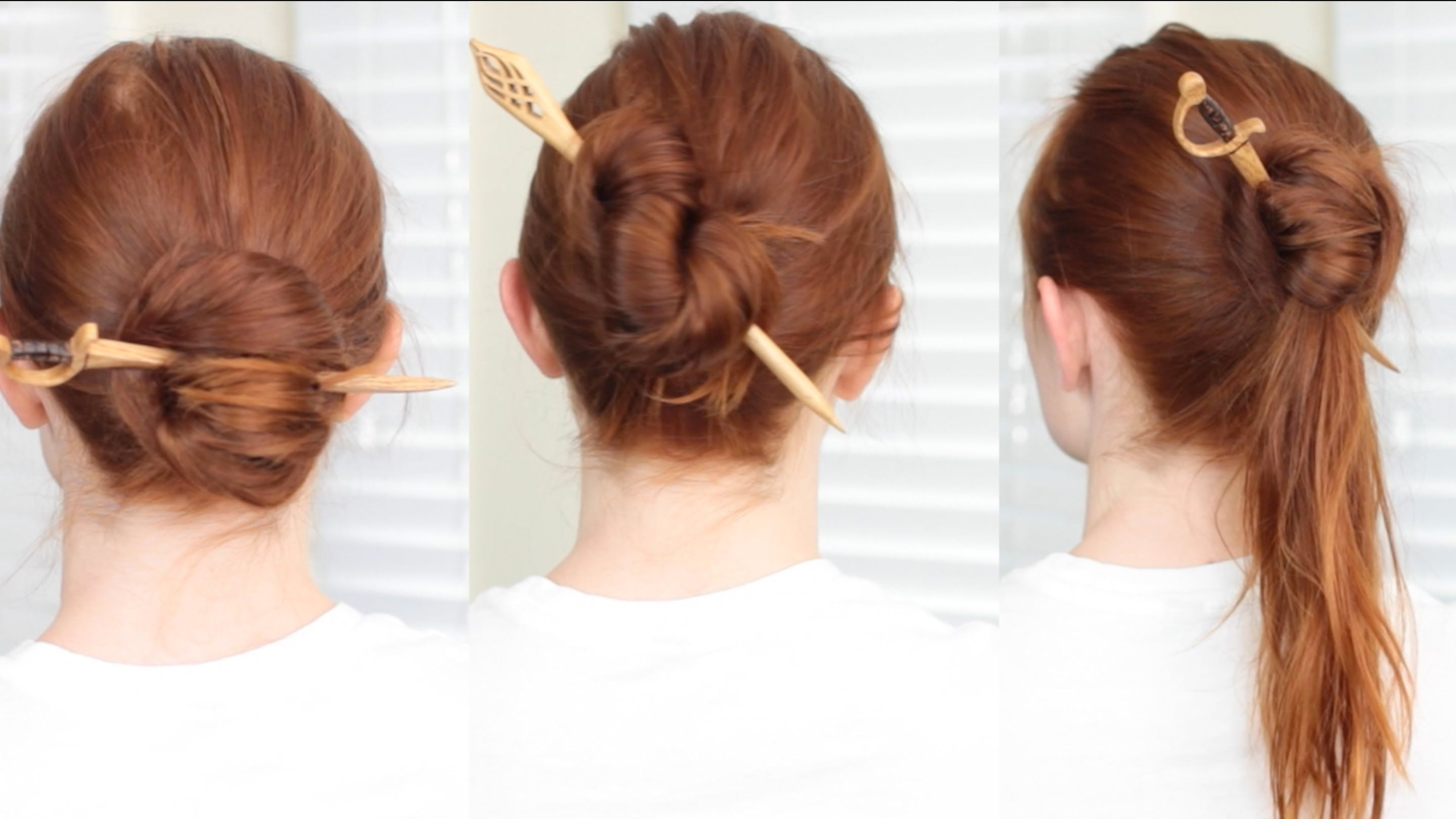 Fast And Easy Hairstyles Sometimes We Just Want To Throw Our Hair Up Into A Bun To Keep It