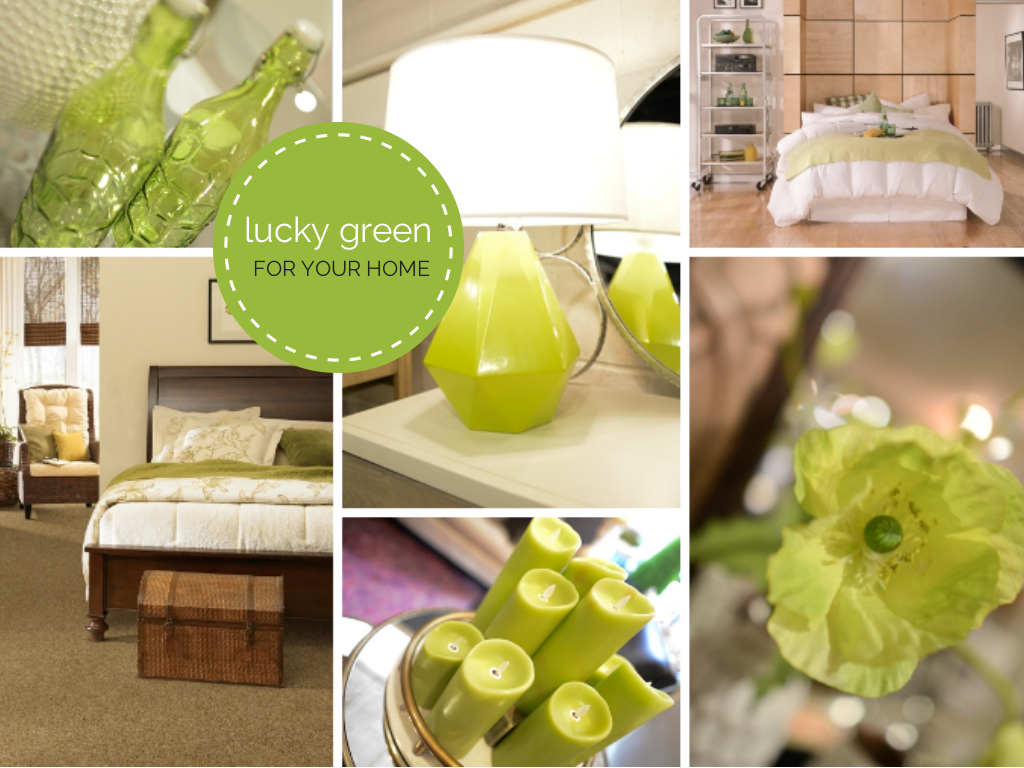 With st patrick 39 s day right around the corner we thought - Lucky color of the day ...