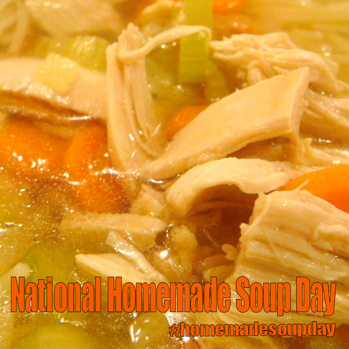 National Homemade Soup Day February 4 2018 Today Is Pinterest