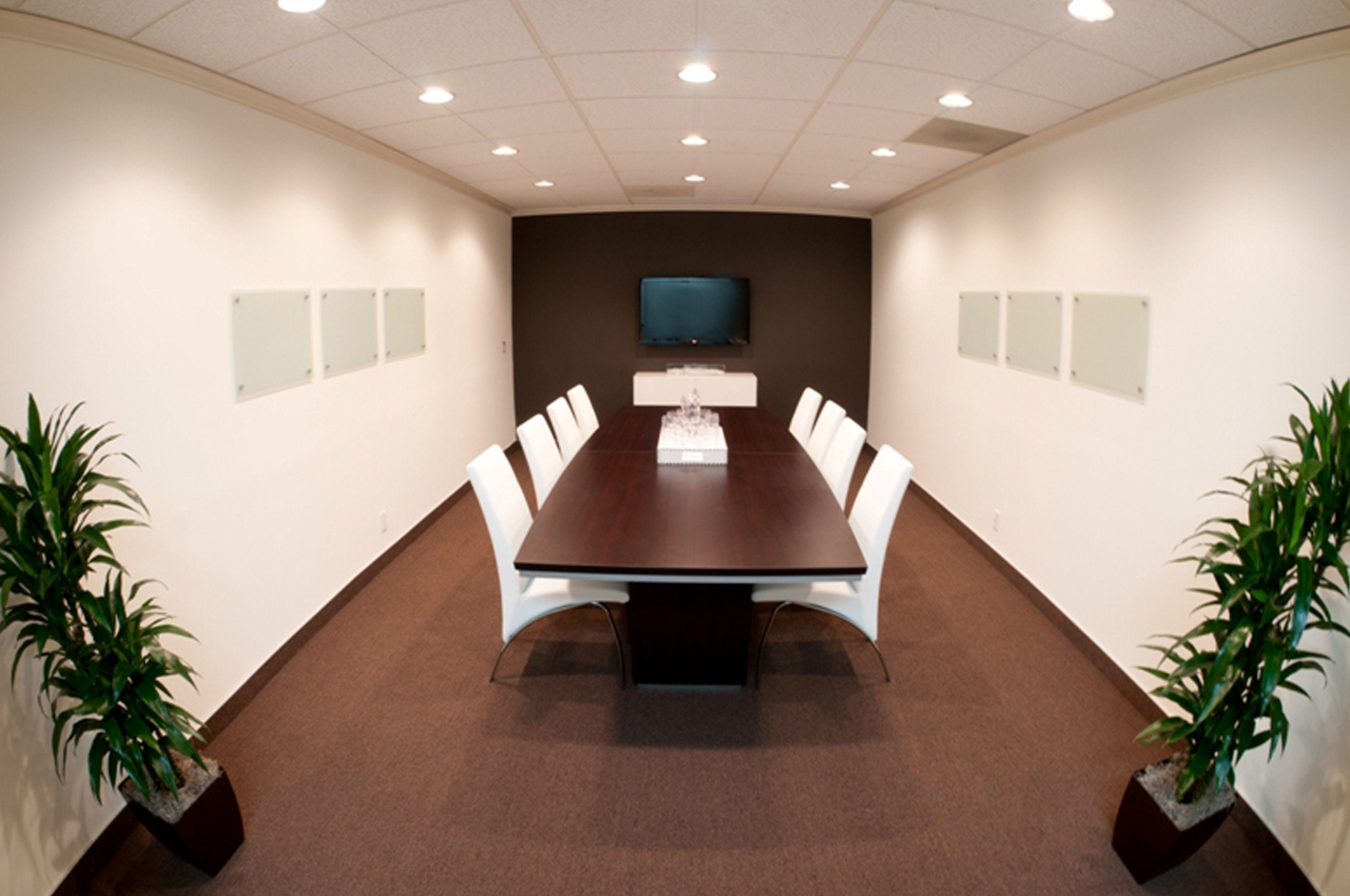Modern board room decor
