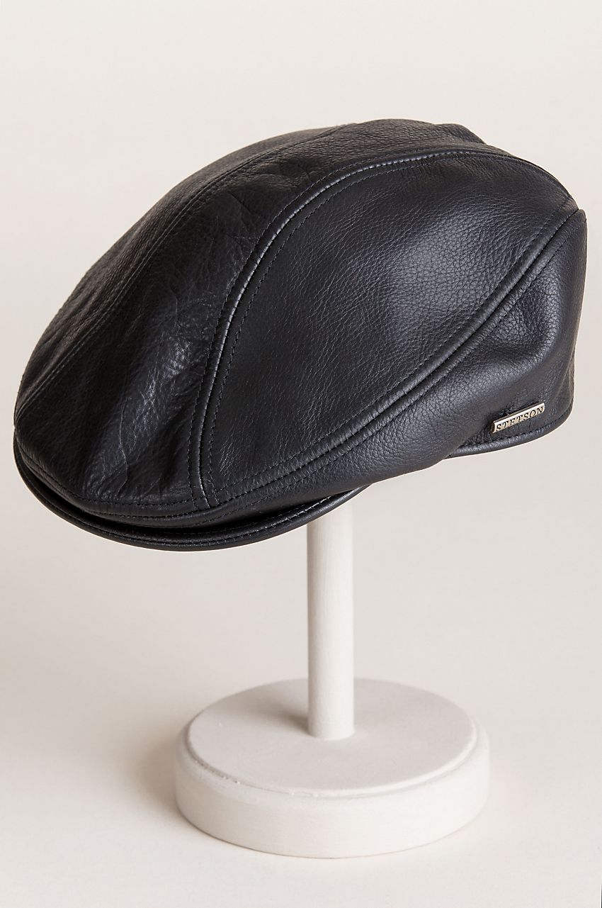 e8a3234c15421 Stetson Oily Timber Leather Ivy Cap | Leather | Cap, Leather, Ivy