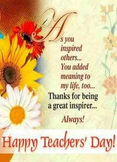 Happy Teachers Day Mam Happy Teachers Day Wishes Wishes For Teacher Happy Teachers Day