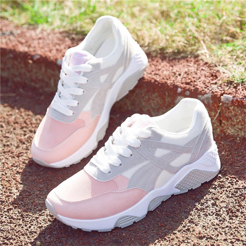 Trainers Women/'s Sneakers Shoes Gym Outdoor Running Mesh Platform Wedge heel
