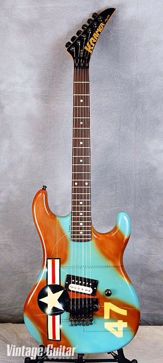 1980s kramer baretta electric guitars 1980s 1980s kramer baretta