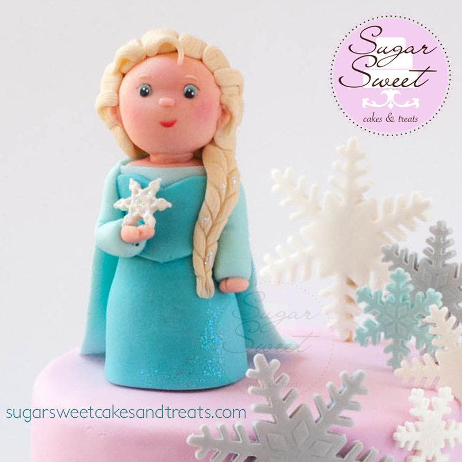 Elsa sugar paste - Google Search