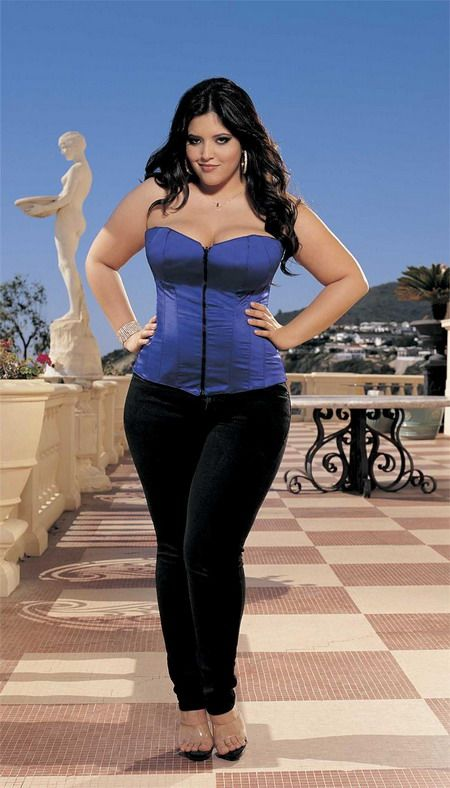 Big Beautiful Curvy Real Women, Real Sizes With Curves -1497