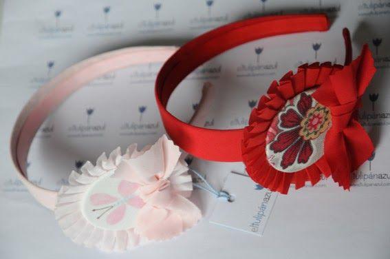 El Tulipán Azul : Diademas, coleteros y tocados: Adelanto colección primavera/verano 2012: diadema GIRASOL