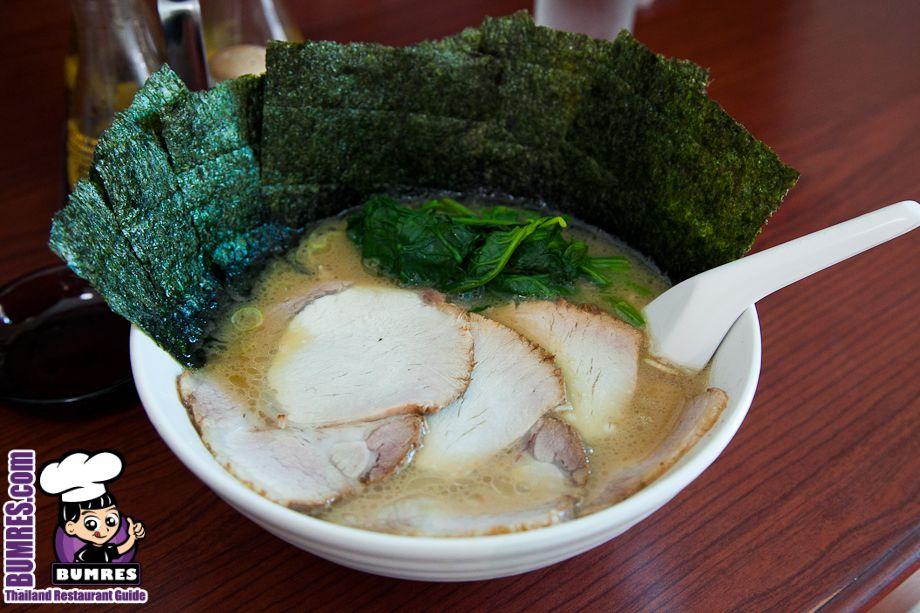 Shio Tonkatsu and a lot of seaweed ramen! Gourmet