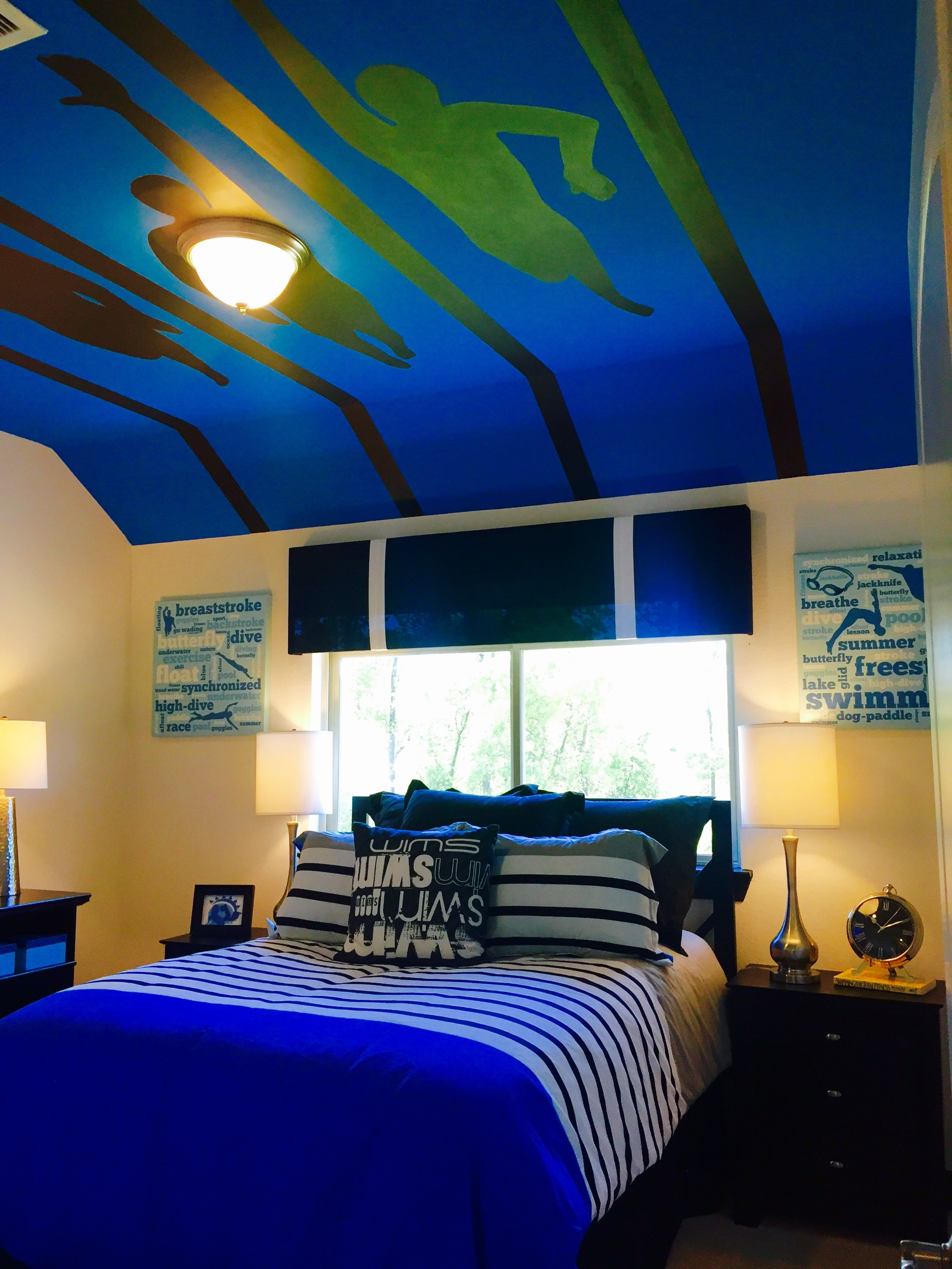 Awesome Swimmers Bedroom