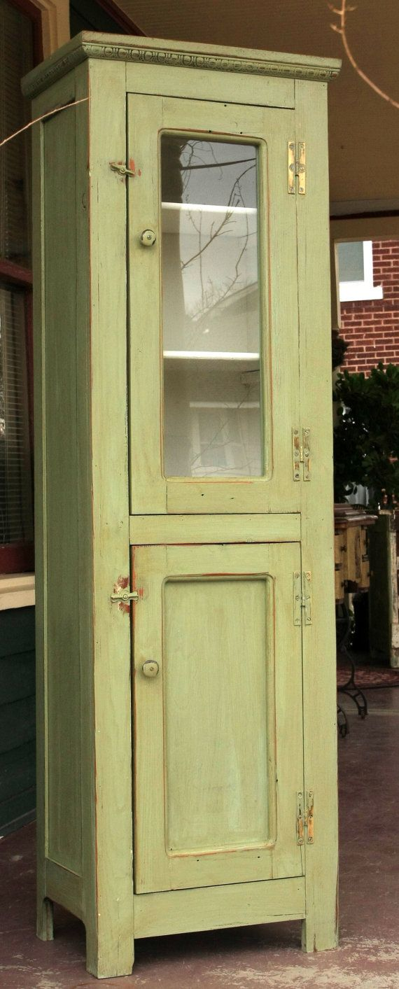 Chimney Cabinet By Old2New2Old On Etsy, $325.00. We Are Restoring Scottu0027s  Dadu0027s Chimney Cabinet And I Would Love To Add Glass Like This One!!
