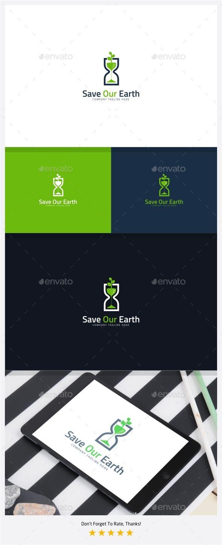 save our earth go green logo green logo ai illustrator and logo