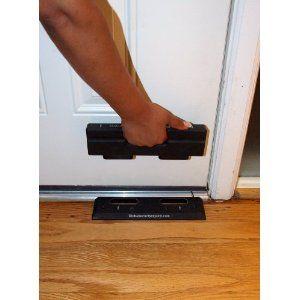 The OnGUARD Door Barricade Withstands up to 3000 Lbs of Violent Force. Front Door Security Stops Home Invasions /& Burglaries OnGARD Door Reinforcement Alternative