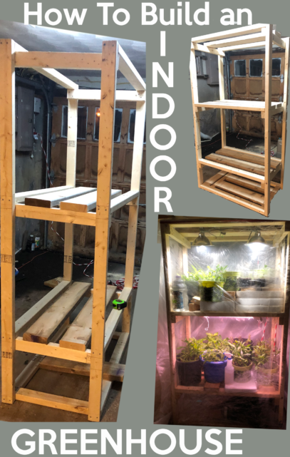 Diy Small Greenhouse For Vegetables And Seed Starting Indoor