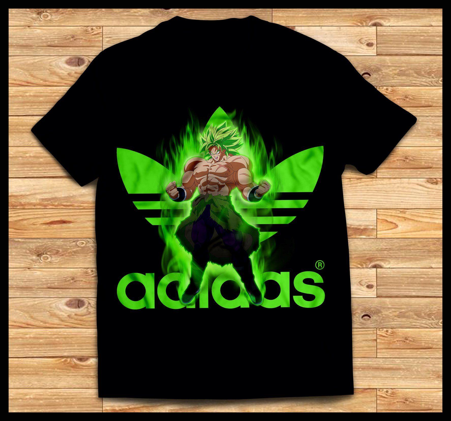 tee shirt dragon ball z homme adidas
