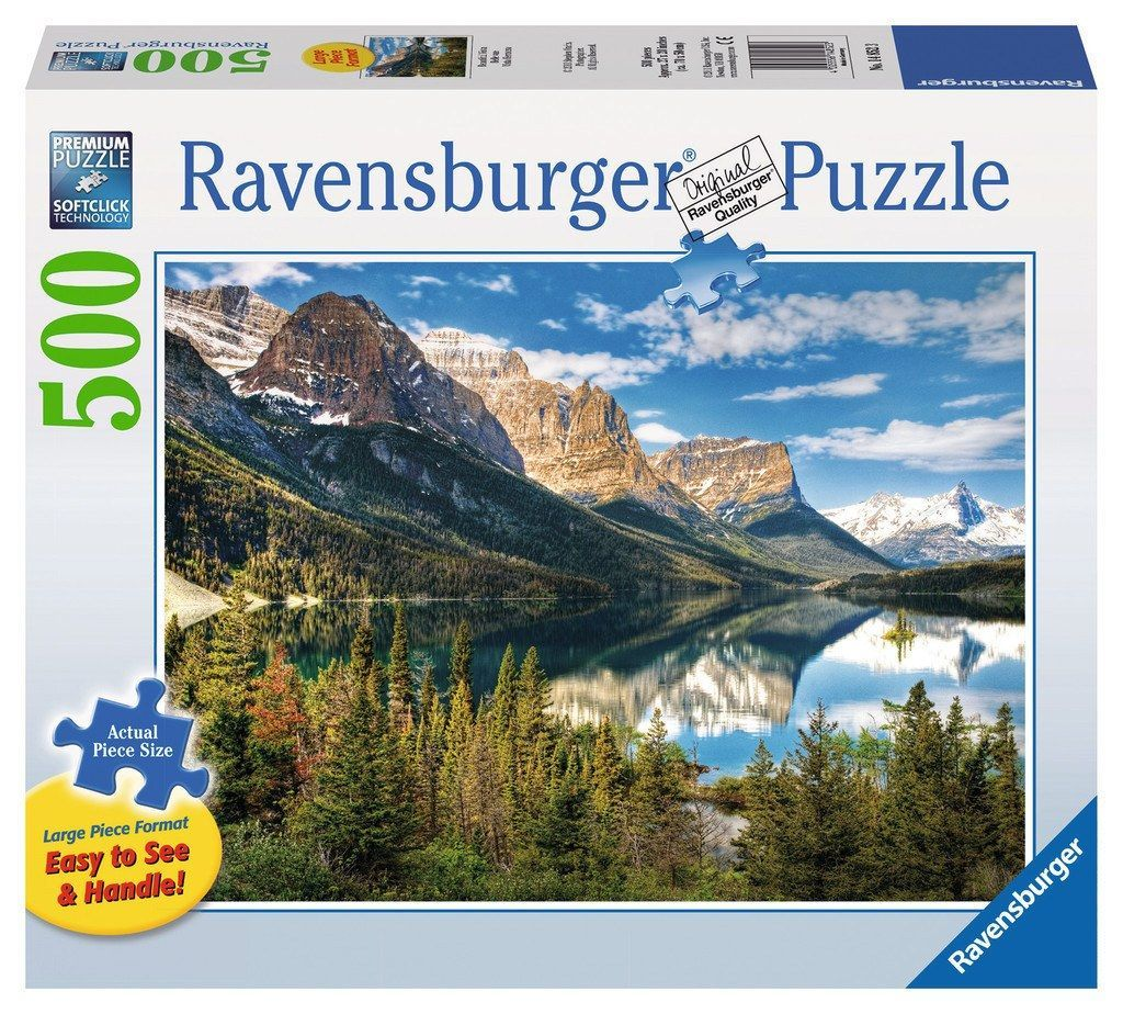 Beautiful Vista - 500 Large Piece Jigsaw Puzzle