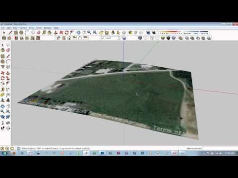 Google Earth To Revit Topography With Texture Material Youtube