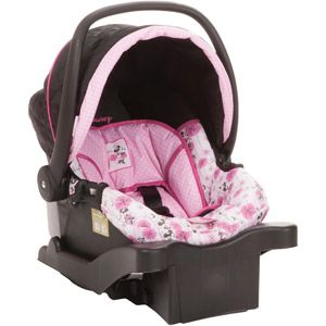 Disney Comfy Carry Elite Plus Infant Car Seat Floral Minnie Mouse