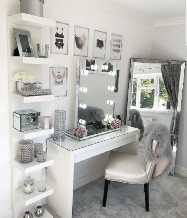 20 Makeup Room Ideas Best Inspiration And Picture In 2020 Room Decor Bedroom Decor Room Inspiration