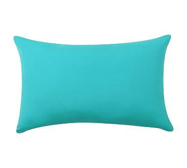 sunbrellar solid knifeedge lumbar pillow 16 x