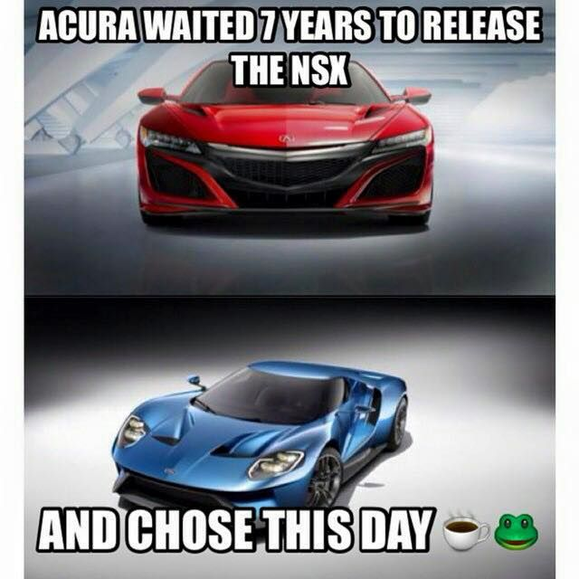 Thoughts On The Two New Releases Unveiled? #Acura #Ford