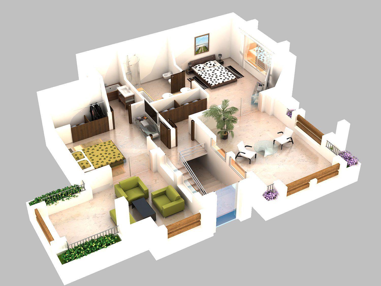 Plan 3d conception et virtualisation 3d pour limmobilier immo 3d plans