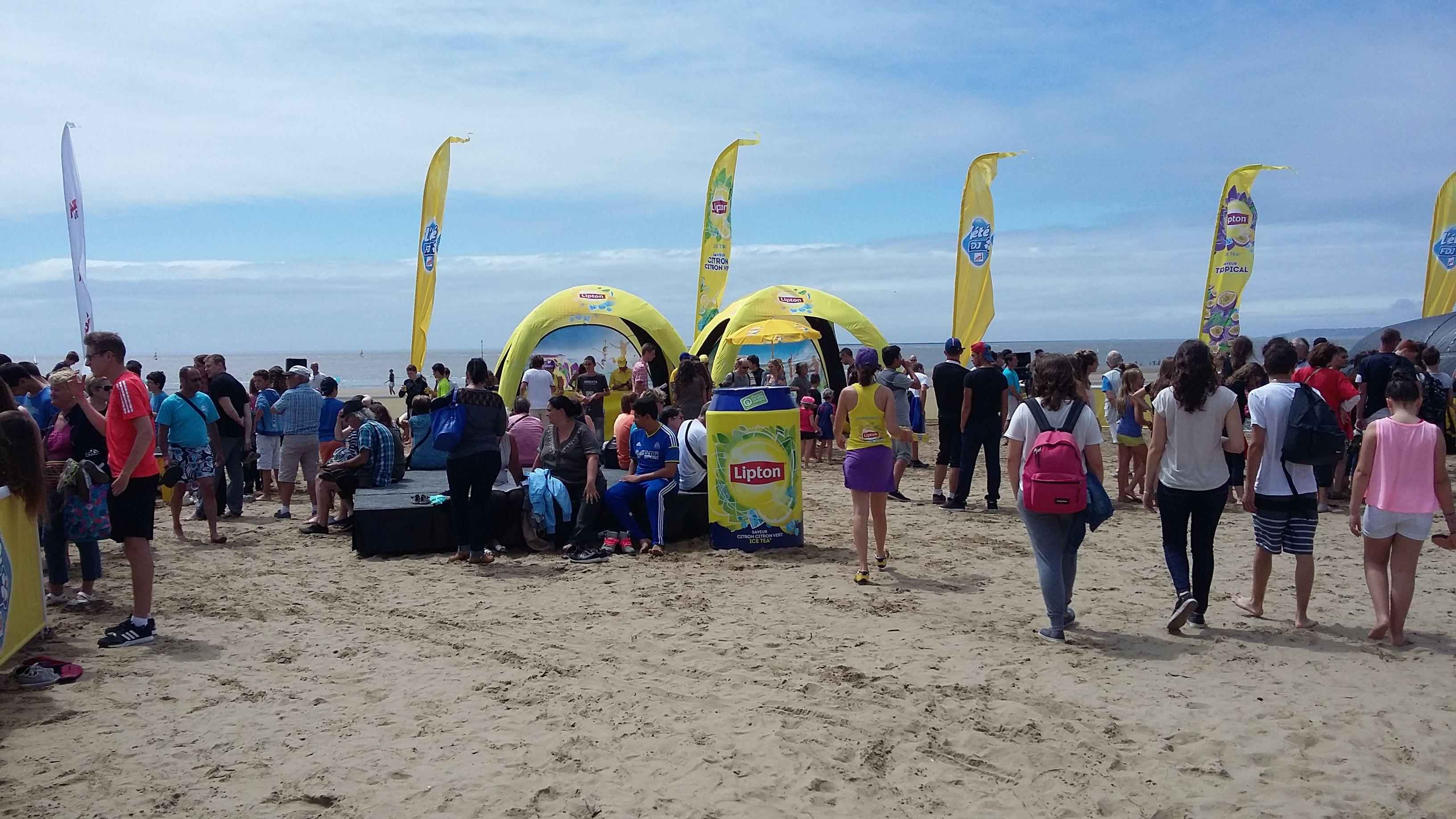 Rassemblement #FDJ sur les plages de Saint Brevin
