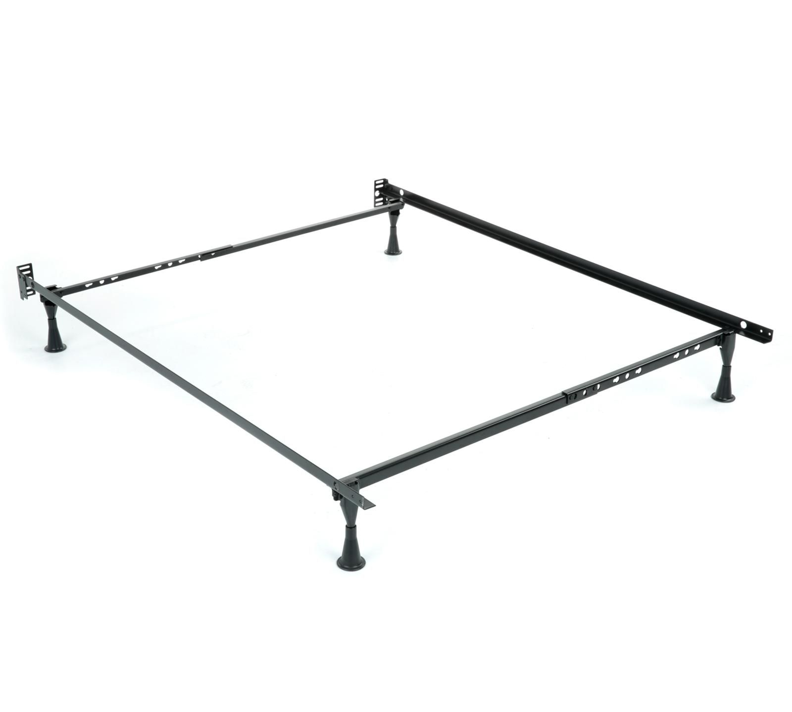 The Leggett And Platt Standard Frame Adjusts To Fit Twin And Full Size Mattresses And With No Tools Requi Adjustable Bed Frame Leggett And Platt Diy Bed Frame
