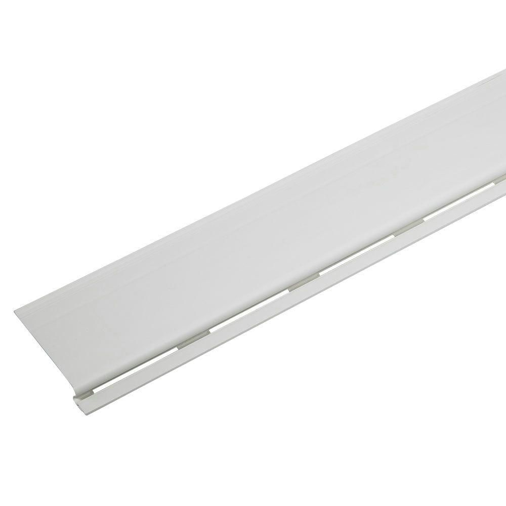 Amerimax Home Products 3 Ft White Solid Gutter Cover 85323 Gutter Bookshelf House Gutters Drip Edge