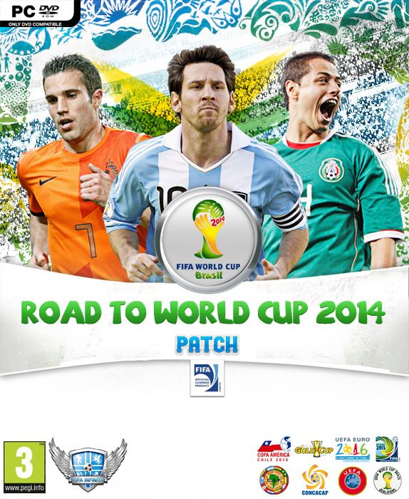 Road To World Cup 2014 Patch World Cup World Cup 2014 Brazil World Cup