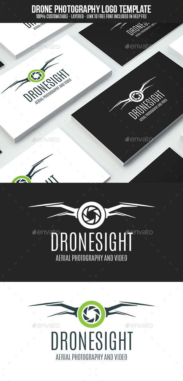 Drone Photography Logo Design Template Vector Logotype Download It Here Graphicriver Item 15591143s Rank31refnesto