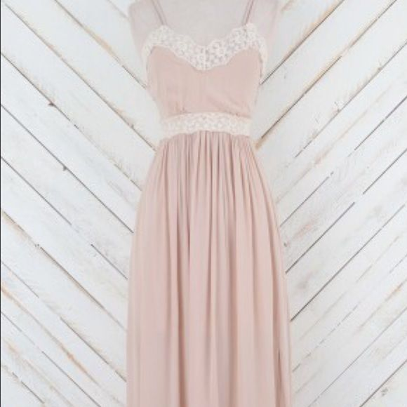 717682c70c6 Altar d State Blush Maxi Dress BRAND NEW WITH TAGS! Never been worn! Bought  as a gift for a wedding