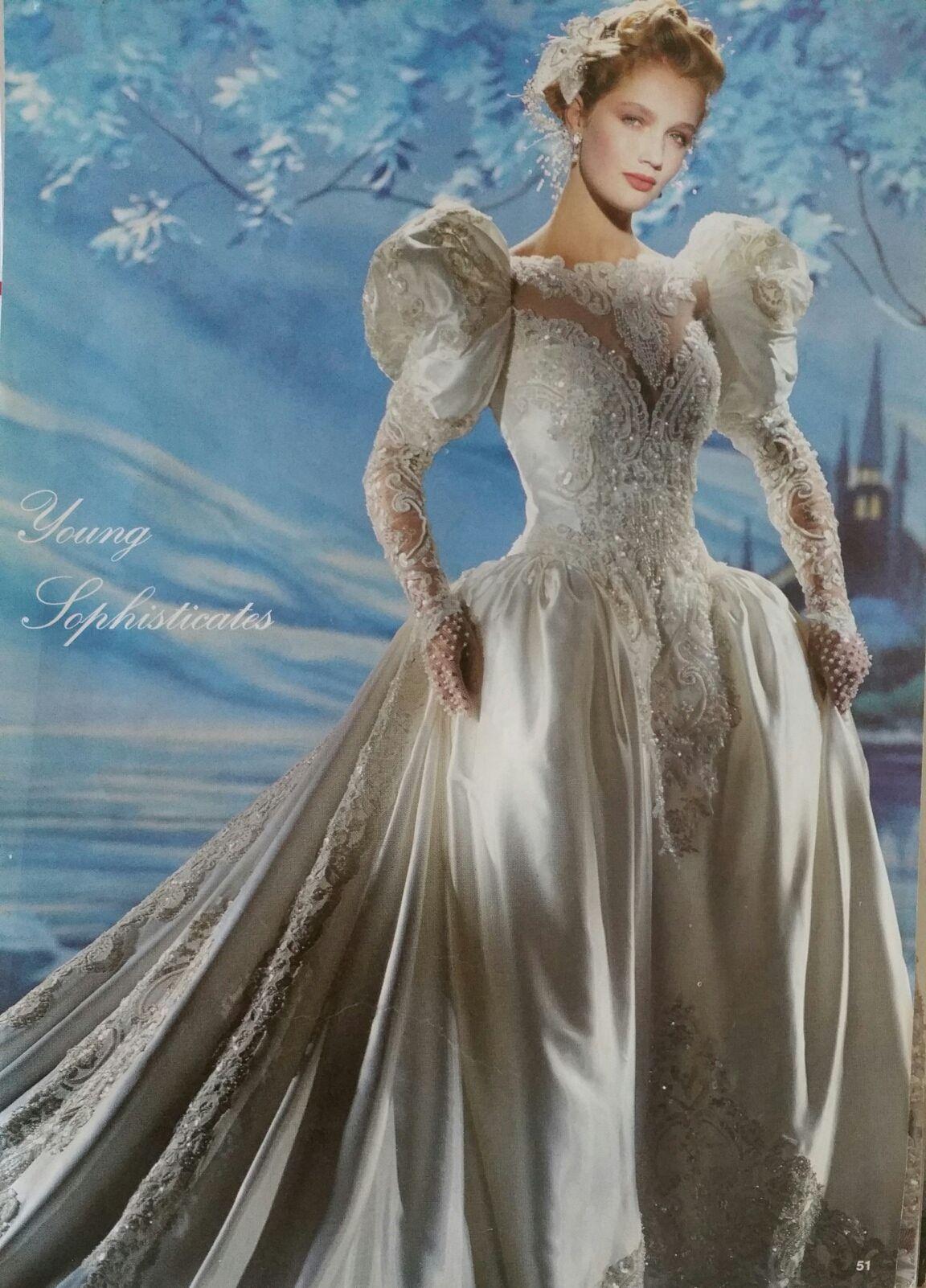 Demitrious Wedding Gowns.Demetrios 1990 1991 Weddings In 2019 Antique Wedding