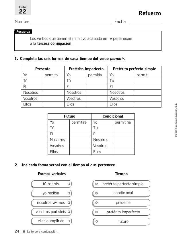 Refuerzo y ampliación lenguaje 4º   lengua cuarto   Pinterest ...