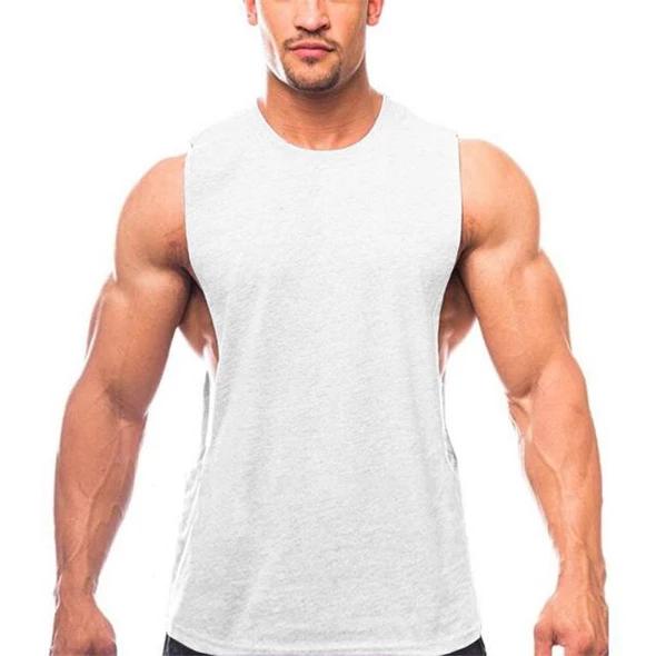 Brand Clothing Summer Fitness Tank Top Men Cotton Sleeveless Loose Ves Heavengif Workout Shirts Gym Tank Tops Workout Tank Tops