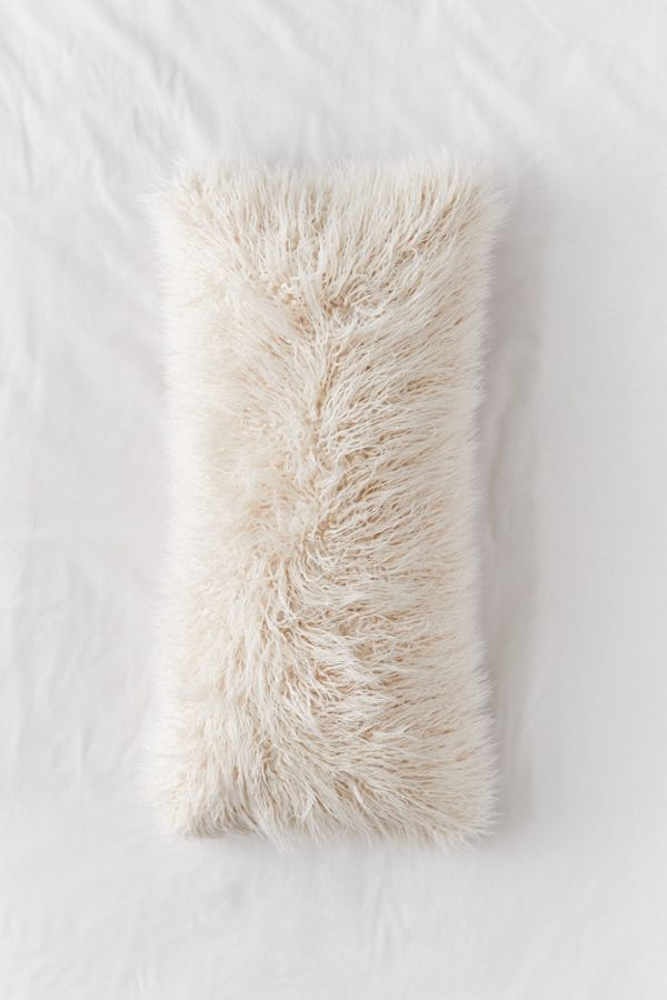 Mila Faux Fur Body Pillow