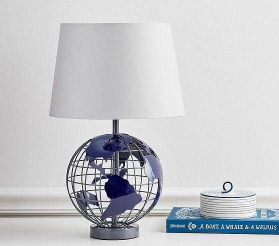 Globe Complete Lamp | Pottery Barn Kids