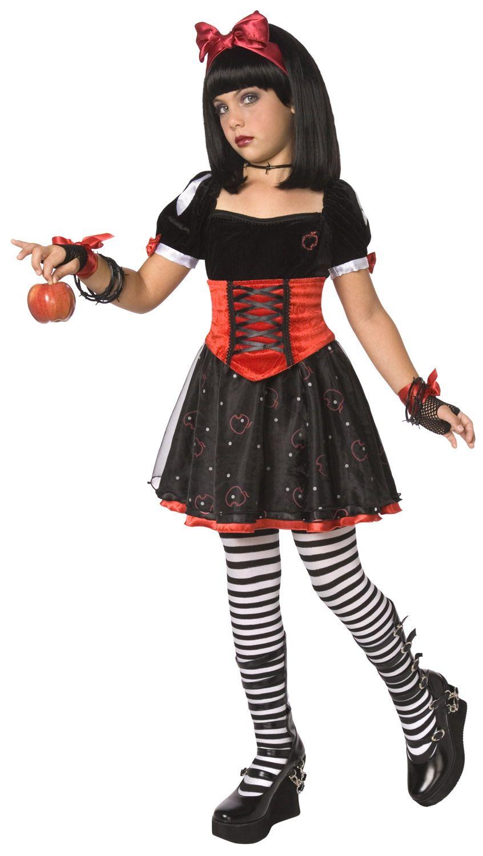 disfraz de princesa envenenada para nia ideal para halloween disponible en vegaoo