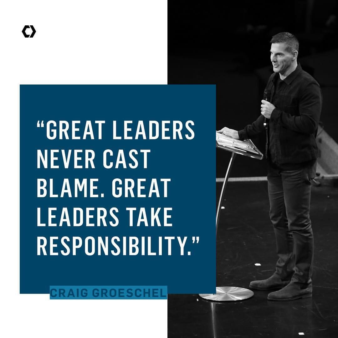 Great Leaders Never Cast Blame. They Do This Instead