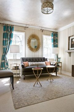 Eclectic Living Room Design Pictures Remodel Decor And Ideas Page 8 Turquoise Room Living Room Turquoise Transitional Living Room Design