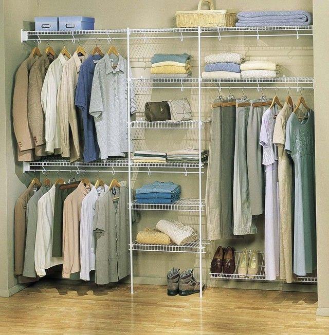 Reach In Closet Organization Ideas Home Design