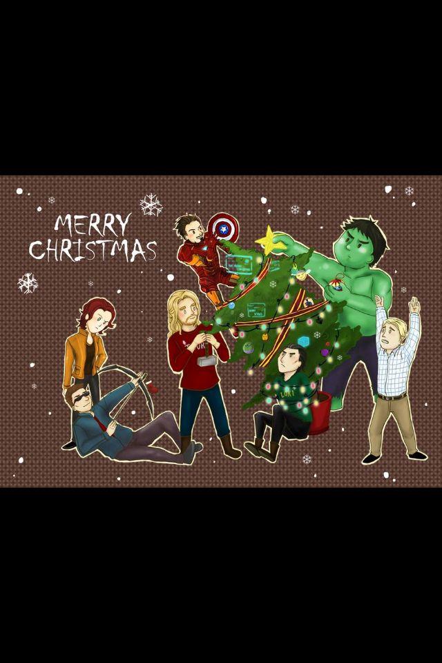Oh, Christmas tree; Oh Christmas tree! | Marvel, Avengers, Superhero