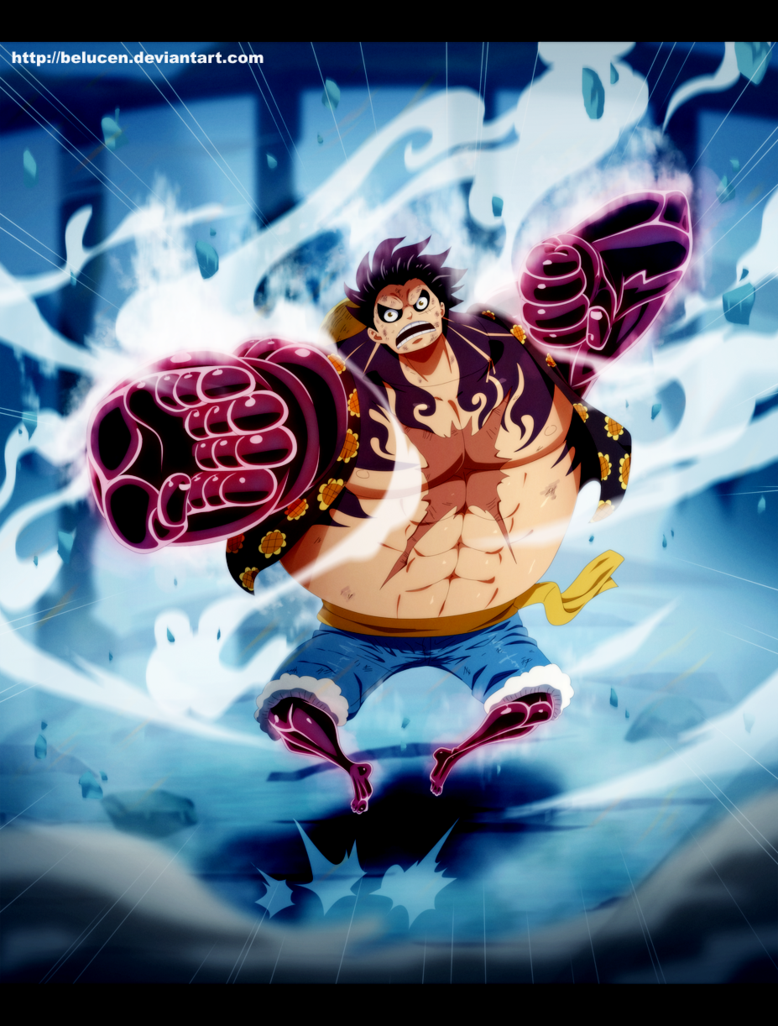 The shichibukai, initially unimpressed, is quickly overwhelmed by luffy. One Piece 784 - Gear Fourth | Anime, Anime wallpaper, One ...