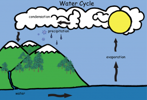Water Cycle Lesson Plan With Water Bottle Experiment Water Cycle Water Cycle Diagram Water Cycle Lessons