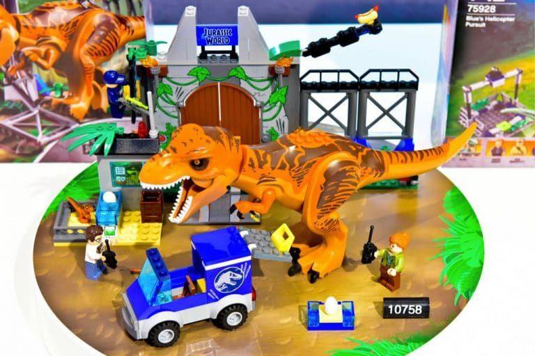Lego Jurassic Kingdom Juniors World Fallen 10758 trdChsQ
